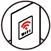 Wi-Fiスポットの設置でお客様満足度UP